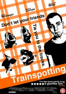 Trainspotting - British DVD movie cover (xs thumbnail)