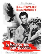 The House of the Seven Hawks - French Movie Poster (xs thumbnail)