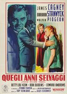 These Wilder Years - Italian Movie Poster (xs thumbnail)