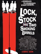 Lock Stock And Two Smoking Barrels - Movie Poster (xs thumbnail)