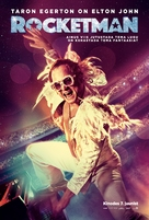 Rocketman - Estonian Movie Poster (xs thumbnail)