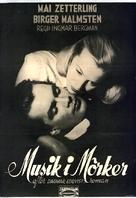 Musik i mörker - Swedish Movie Poster (xs thumbnail)