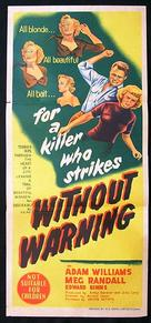 Without Warning! - Australian Movie Poster (xs thumbnail)