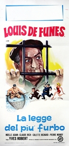 Ni vu, ni connu - Italian Movie Poster (xs thumbnail)