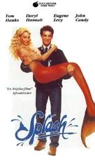 Splash - Swedish VHS movie cover (xs thumbnail)