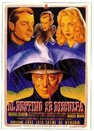Destino se disculpa, El - Spanish Movie Poster (xs thumbnail)