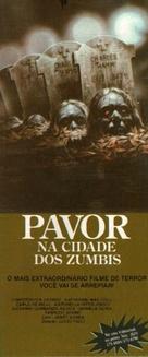 Paura nella città dei morti viventi - Brazilian Movie Poster (xs thumbnail)