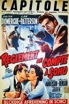 Spin a Dark Web - Belgian Movie Poster (xs thumbnail)