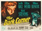 The Dark Corner - British Movie Poster (xs thumbnail)