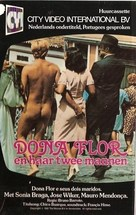 Dona Flor e Seus Dois Maridos - Dutch VHS cover (xs thumbnail)