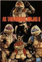 Teenage Mutant Ninja Turtles II: The Secret of the Ooze - Brazilian Movie Cover (xs thumbnail)