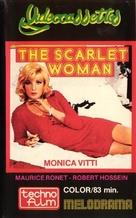 La femme écarlate - VHS movie cover (xs thumbnail)