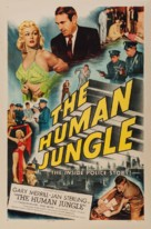 The Human Jungle - Movie Poster (xs thumbnail)