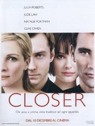 Closer - Italian poster (xs thumbnail)