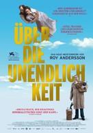 Om det oändliga - German Movie Poster (xs thumbnail)
