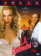 L.A. Confidential - Spanish DVD movie cover (xs thumbnail)