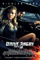 Drive Angry - Swiss Movie Poster (xs thumbnail)