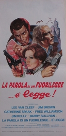 Take a Hard Ride - Italian Movie Poster (xs thumbnail)