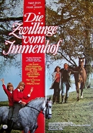 Die Zwillinge vom Immenhof - German Movie Poster (xs thumbnail)
