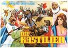 El valle de las espadas - German Movie Poster (xs thumbnail)