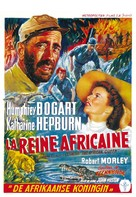 The African Queen - Belgian Theatrical movie poster (xs thumbnail)
