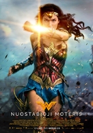 Wonder Woman - Lithuanian Movie Poster (xs thumbnail)