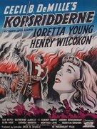 The Crusades - Danish Movie Poster (xs thumbnail)