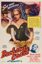 Barbary Coast - Re-release movie poster (xs thumbnail)