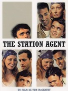 The Station Agent - French DVD cover (xs thumbnail)