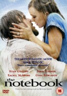The Notebook - British DVD movie cover (xs thumbnail)