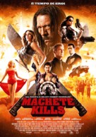 Machete Kills - Italian Movie Poster (xs thumbnail)
