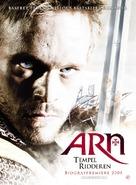 Arn - Tempelriddaren - Danish Movie Poster (xs thumbnail)