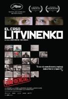 Rebellion: The Litvinenko Case - Spanish Movie Poster (xs thumbnail)