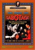 Sabotage - Australian DVD cover (xs thumbnail)