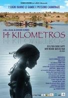 14 kilómetros - Italian Movie Poster (xs thumbnail)