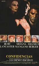 Gruppo di famiglia in un interno - Spanish Movie Poster (xs thumbnail)