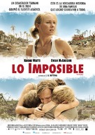 Lo imposible - Argentinian Movie Poster (xs thumbnail)