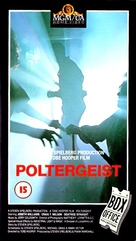 Poltergeist - British VHS cover (xs thumbnail)