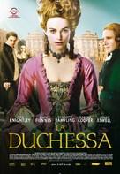 The Duchess - Italian Movie Poster (xs thumbnail)