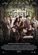 Beautiful Creatures - Croatian Movie Poster (xs thumbnail)