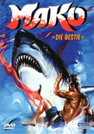 Mako: The Jaws of Death - German DVD cover (xs thumbnail)