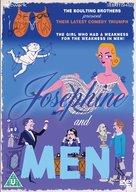 Josephine and Men - British DVD cover (xs thumbnail)