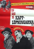 A Day at the Races - Swedish Movie Poster (xs thumbnail)