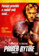 A Knight's Tale - Czech DVD movie cover (xs thumbnail)