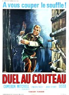 I coltelli del vendicatore - French Movie Poster (xs thumbnail)
