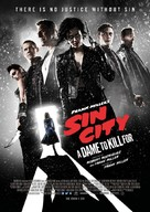 Sin City: A Dame to Kill For - Norwegian Movie Poster (xs thumbnail)