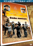 The Magnificent Seven - Czech DVD movie cover (xs thumbnail)