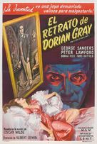 The Picture of Dorian Gray - Argentinian Movie Poster (xs thumbnail)