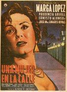 Una mujer en la calle - Mexican Movie Poster (xs thumbnail)