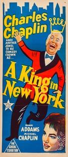 A King in New York - Australian Movie Poster (xs thumbnail)